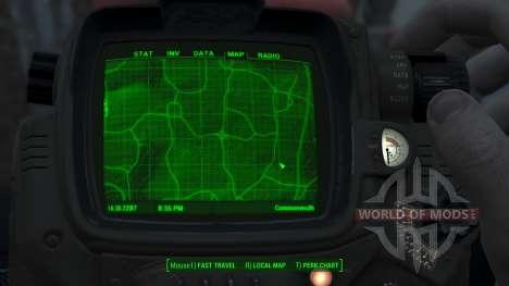 Immersive Map 4k - TERRAIN - Full Squares para Fallout 4