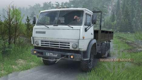 KamAZ 55102 [08.11.15] para Spin Tires