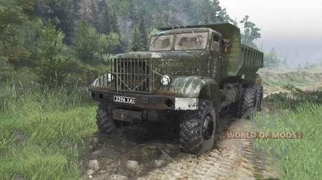 El KrAZ-214 [08.11.15] para Spin Tires