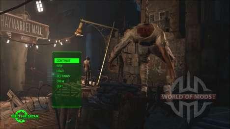 Time Lapse Main Menu Replacer para Fallout 4