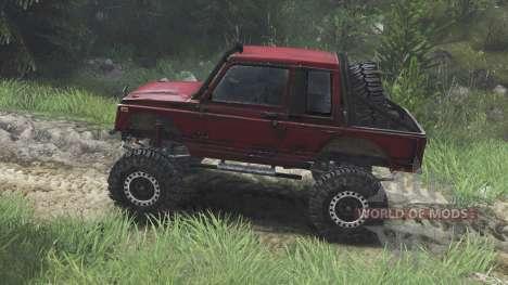 Suzuki Samurai [08.11.15] para Spin Tires