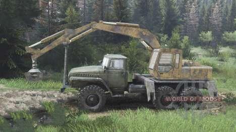 Ural-4320 con los nuevos cargadores [08.11.15] para Spin Tires