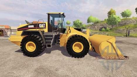 Caterpillar 980H para Farming Simulator 2013