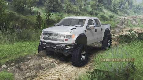 Ford Raptor SVT [08.11.15] para Spin Tires