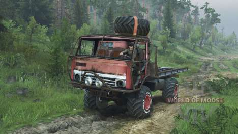 KamAZ Mongo [08.11.15] para Spin Tires