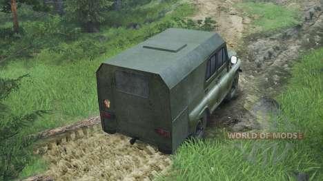 UAZ-469 [08.11.15] para Spin Tires