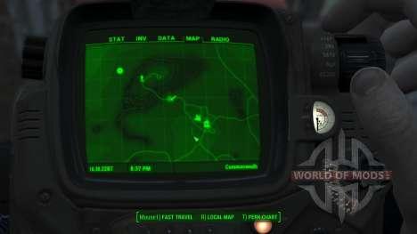 Immersive Map 4k - VANILLA - Big Squares para Fallout 4