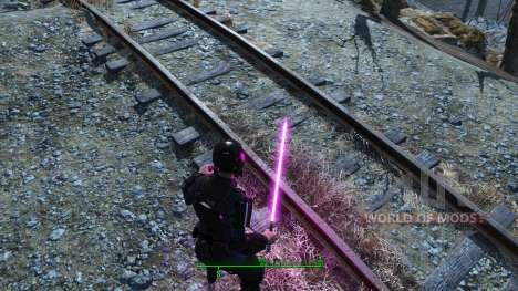Los sables de luz de Star Wars para Fallout 4