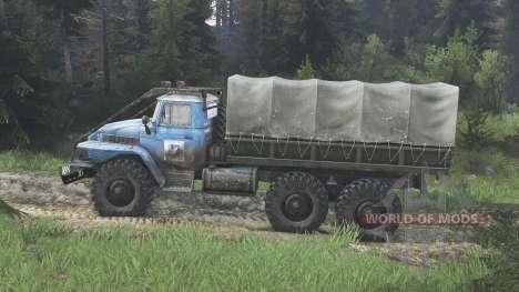 Ural-375 [azul] [08.11.15] para Spin Tires