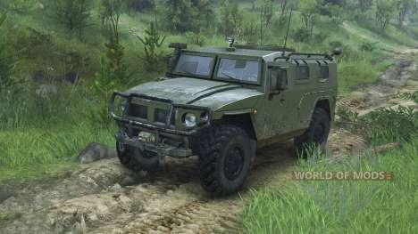 GAZ-2975 Tigre [08.11.15] para Spin Tires