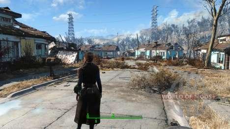 The Bad-Ass Vault Dweller Long Coat para Fallout 4
