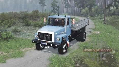 GAZ-3309 [08.11.15] para Spin Tires