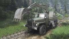 Ural-4320 con los nuevos cargadores [08.11.15]