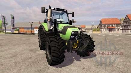 Deutz-Fahr Agrotron 430 TTV [frontloader] para Farming Simulator 2013