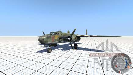 B-25 Mitchell v.1.01 para BeamNG Drive