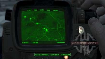 Immersive Map 4k - TERRAIN - No Squares para Fallout 4