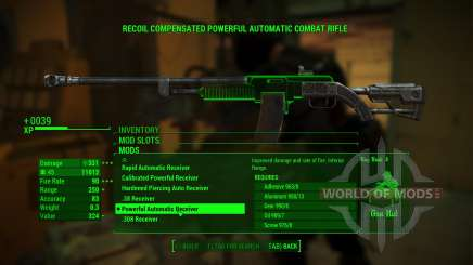 Overpowered Weapon mods para Fallout 4