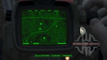 Immersive Map 4k - VANILLA - No Squares para Fallout 4