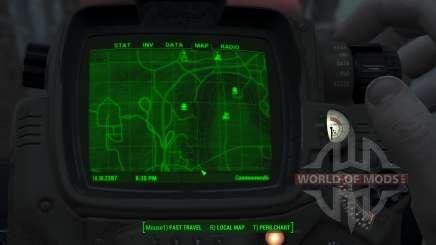 Immersive Map 4k - TERRAIN - Big Squares para Fallout 4