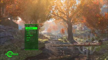 Time Lapse Main Menu Replacer para Fallout 4