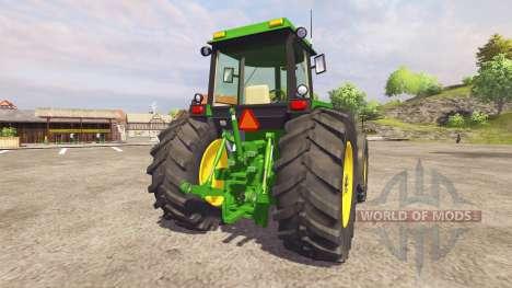 John Deere 4455 v2.1 para Farming Simulator 2013