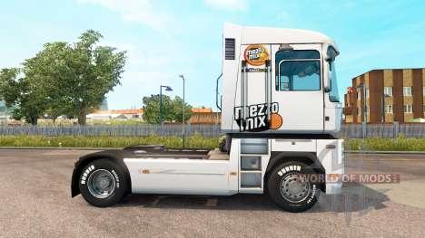 Mezzo Mezcla de la piel en el tractor Renualt para Euro Truck Simulator 2