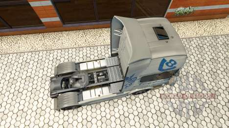 Hartmann Transporte de la piel para Scania camió para Euro Truck Simulator 2