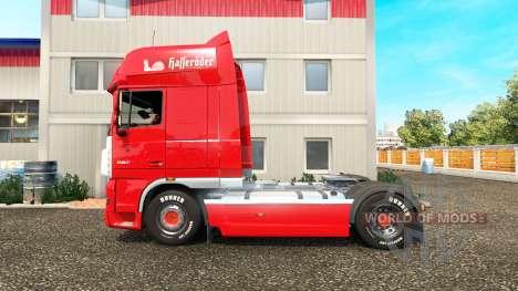 La piel de la Hasseroeder camión DAF para Euro Truck Simulator 2