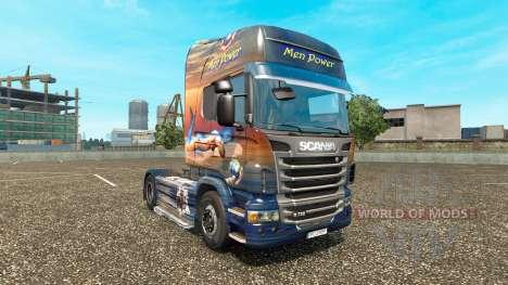 Los hombres de Alimentación de la piel para Scan para Euro Truck Simulator 2