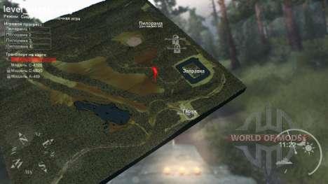 Mapa de Khanty-Mansiysk la versión Final para Spin Tires