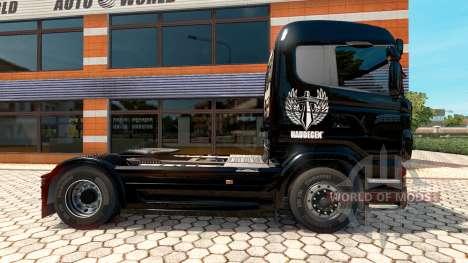 Haudegen de la piel para Scania camión para Euro Truck Simulator 2