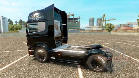El rápido y el furioso 6 de la piel para Scania  para Euro Truck Simulator 2