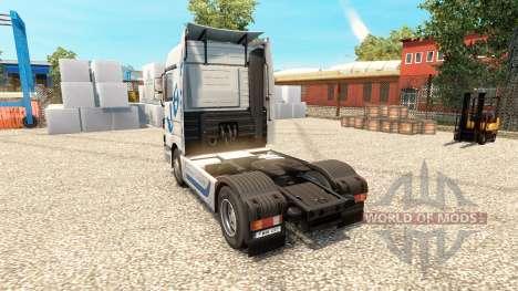 Hartmann Transporte de la piel para camión Merce para Euro Truck Simulator 2
