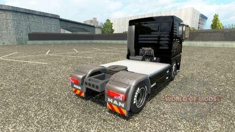 La piel en el V8 de camiones MAN v2.0 para Euro Truck Simulator 2