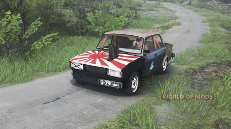 VAZ-2105 [08.11.15] para Spin Tires