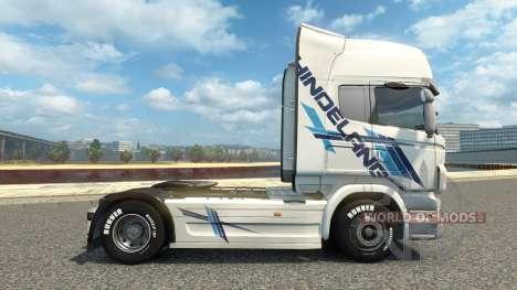 Hindelang de la piel para Scania camión para Euro Truck Simulator 2