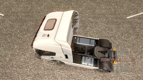 Hartmann Transporte de la piel para Iveco tracto para Euro Truck Simulator 2