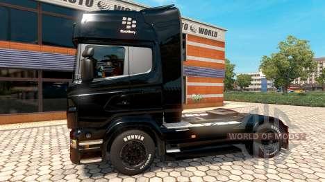 BlackBerry piel para Scania camión para Euro Truck Simulator 2