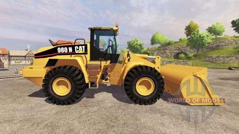 Caterpillar 980H v2.0 para Farming Simulator 2013