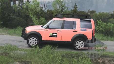 Land Rover Discovery 3 G4 [08.11.15] para Spin Tires
