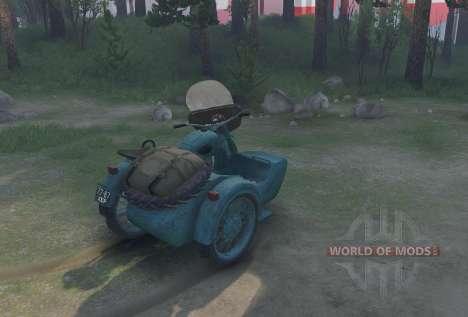 Ural M-62 para Spin Tires