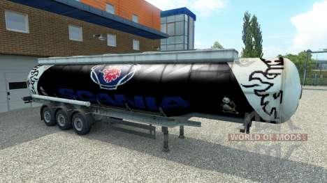 La piel Scania semirremolque para Euro Truck Simulator 2