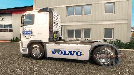 La piel de Volvo Camiones de Volvo trucks para Euro Truck Simulator 2