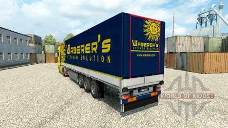 Waberers piel para HOMBRE camiones para Euro Truck Simulator 2