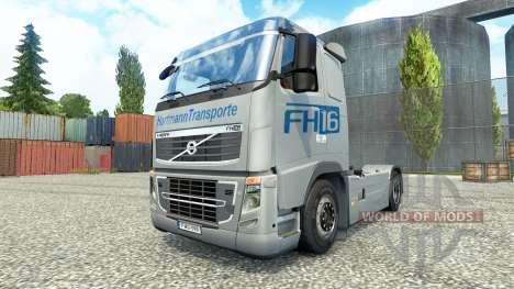 Hartmann Transporte de la piel para camiones Vol para Euro Truck Simulator 2