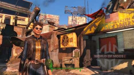 El reflejo en las gafas para Fallout 4
