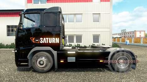 Saturno de la piel en los camiones Volvo para Euro Truck Simulator 2