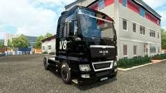V8 de piel para HOMBRE camiones