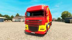 DLRG skin for DAF truck
