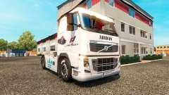 La piel de Adidas para camiones Volvo